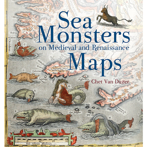 SEA MONSTERS MAPS