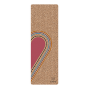CREATIVE KIMIYO HEART CORK YOGA MAT