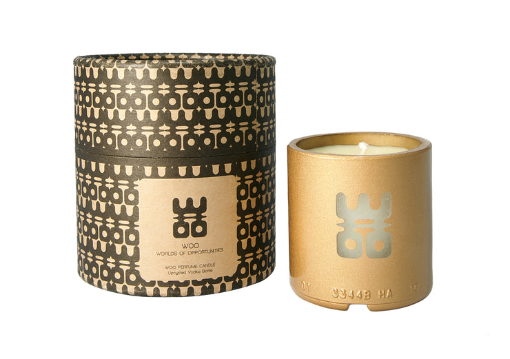 WOO PERFUME CANDLE ⎢ VODKA GLASS