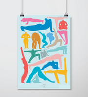 THE CREATIVE KIMIYO YOGA POSTER