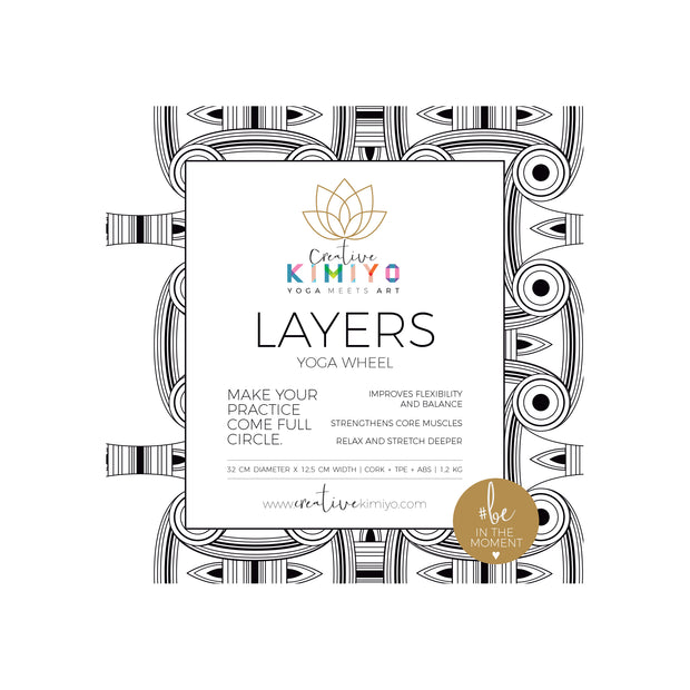 THE LAYERS WHEEL BY CREATIVE KIMIYO