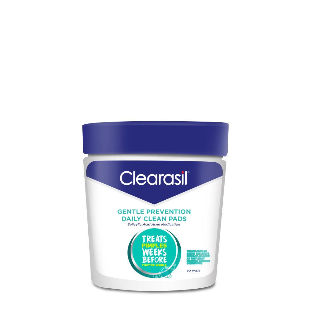Clearasil® Gentle Prevention Daily Clean Pads, 90 cnt, Salicylic Acid Acne Medication