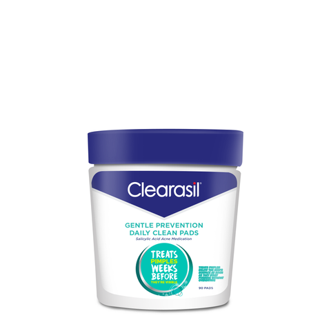 Clearasil Gentle Prevention Daily Clean Wash Oil Free Face Wash 6.5 Oz Each My Shiney Hiney Cleansing Cream - Passion Fruit
