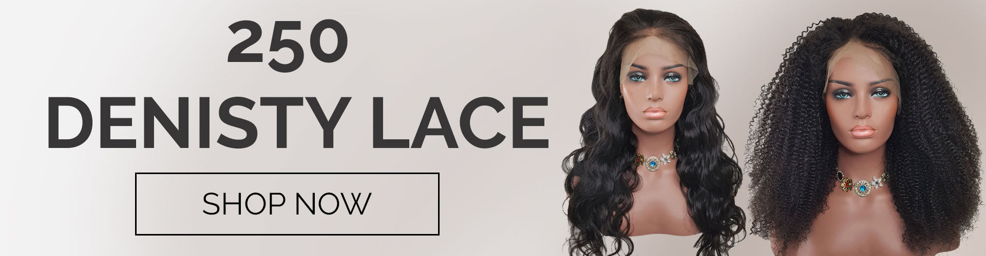 250% Denisty Lace Front Wig