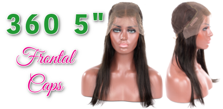 360 5 Frontal Wig