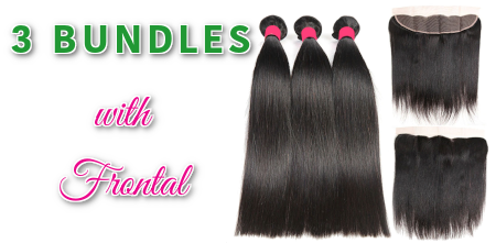 3 Bundle with frontal