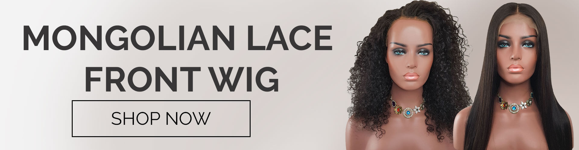 Mongolian Lace Front Wigs