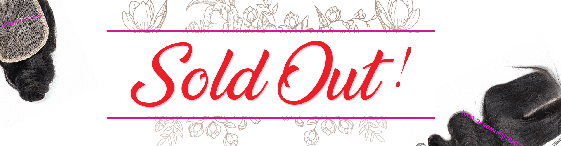 Sale Lace Closure collection sold out