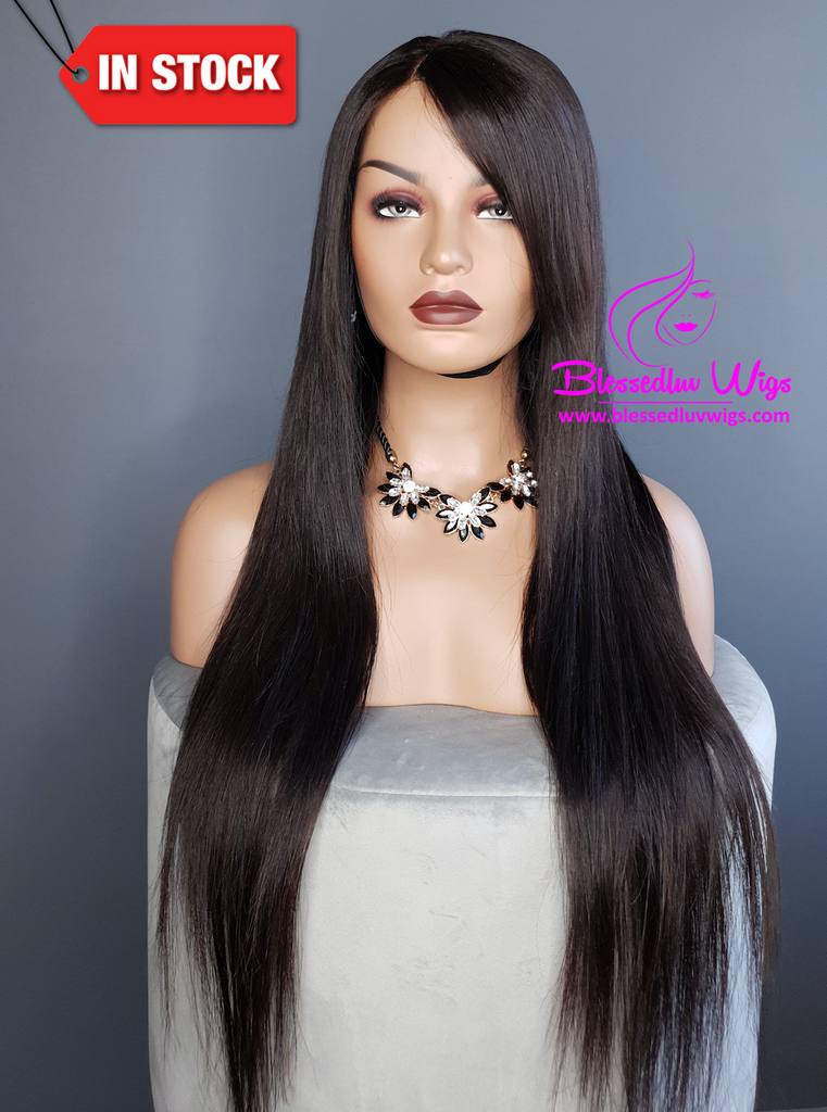 AMY- Brazilian Lace Closure Handmade Wig-www.brazilianweave.com-Brazilianweave.com