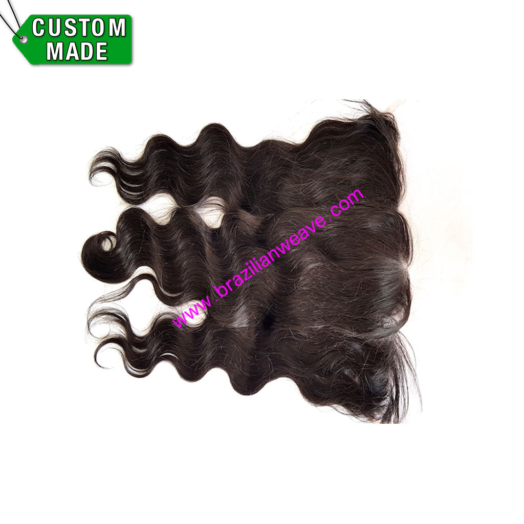13x6 Frontal Brazilian Body Wave Free Parting-Brazilianweave.com-Brazilianweave.com