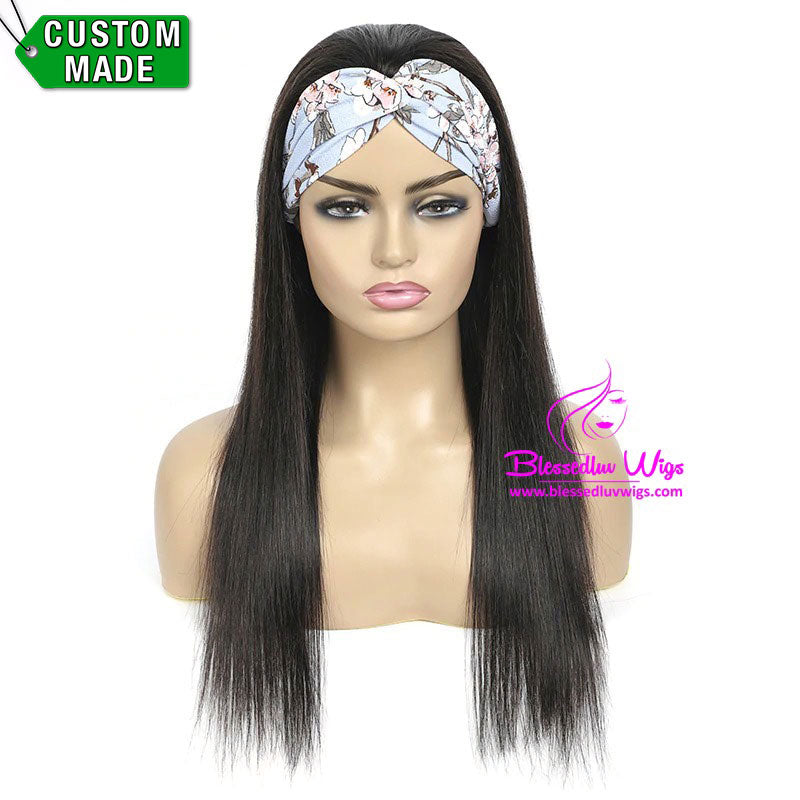 Ellie - Headbands Brazilian Hair Silky Straight-Brazilianweave.com-Brazilianweave.com
