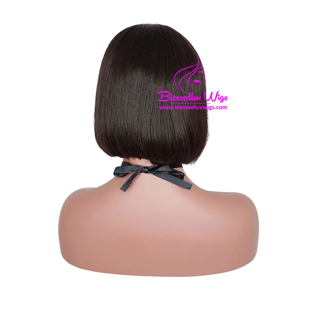 Cathy - Blunt Cut Bob Lace Wig-Brazilianweave.com-Brazilianweave.com