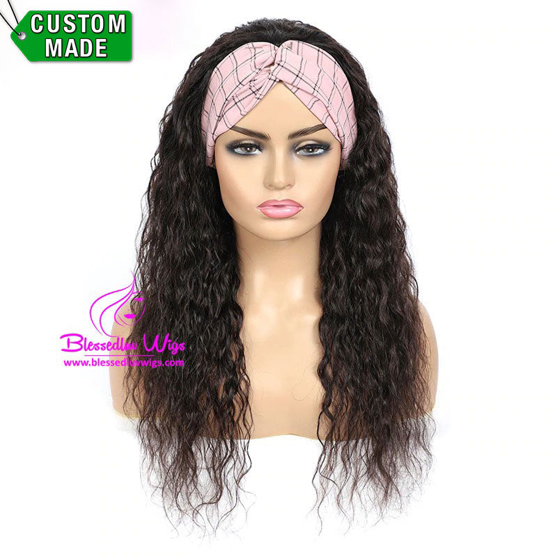 Paisley - Headbands Brazilian Hair Water Curls-Brazilianweave.com-Brazilianweave.com