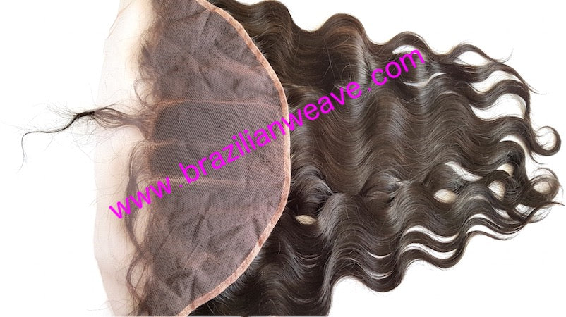 13x6 Frontal Brazilian Body Wave Free Parting- 18 Inch-Brazilianweave.com
