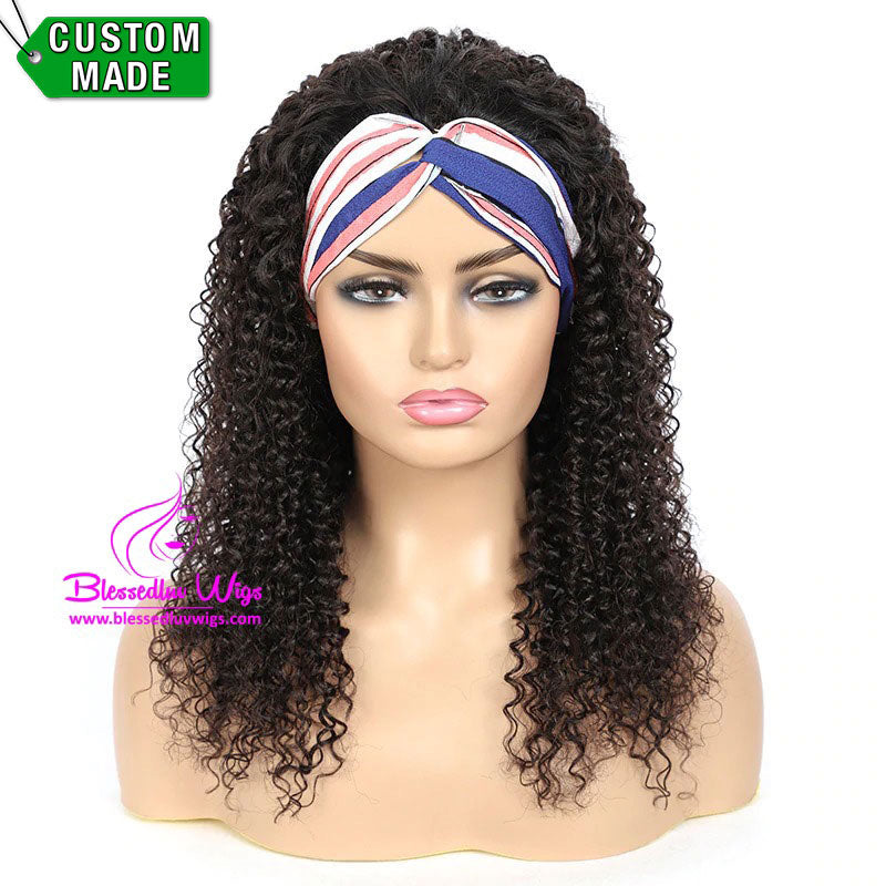 Anna - Headbands Brazilian Hair Kinky Curls-Brazilianweave.com-Brazilianweave.com