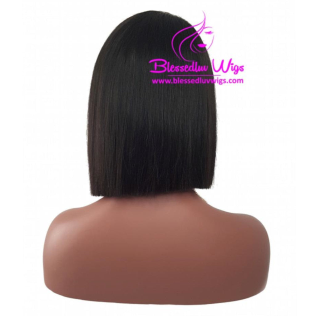 Aliza - Blunt Cut 180% Side Parting Bob Lace Front Wig-Brazilianweave.com-Brazilianweave.com