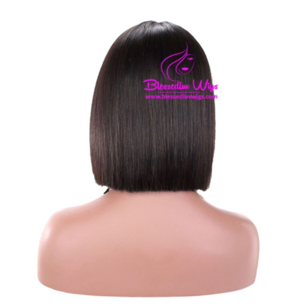 Jeanne - Blunt Cut Lace Closure Wig-Brazilianweave.com-Brazilianweave.com