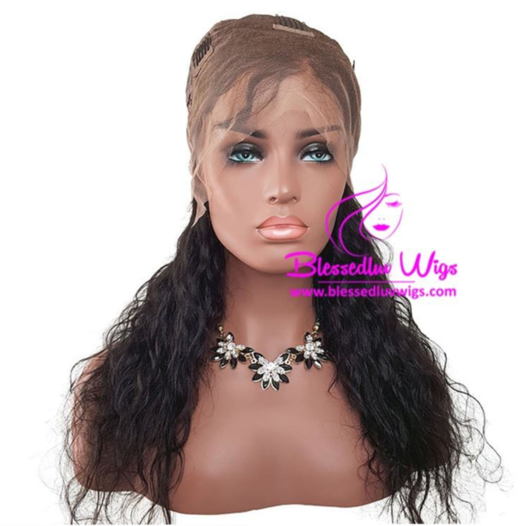 Brazilian Full Lace Wig Water Curls-Brazilianweave.com-Brazilianweave.com
