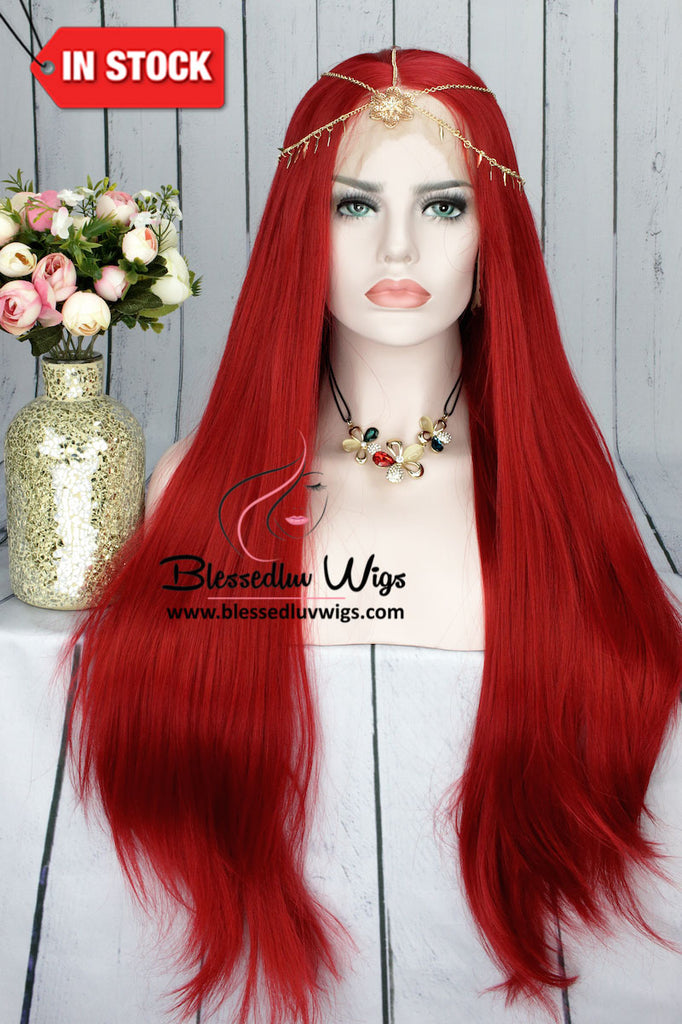 Diva Cherry Red Wig