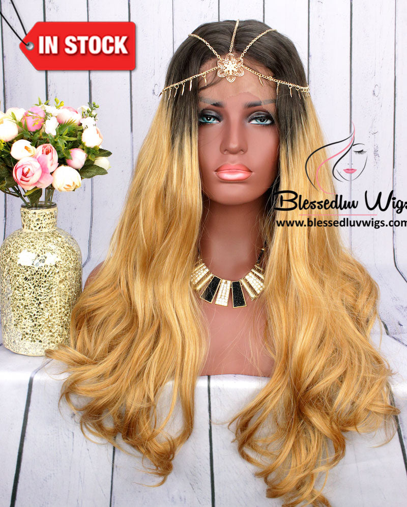 Diva Honey Blonde Wig-Brazilianweave.com-Brazilianweave.com