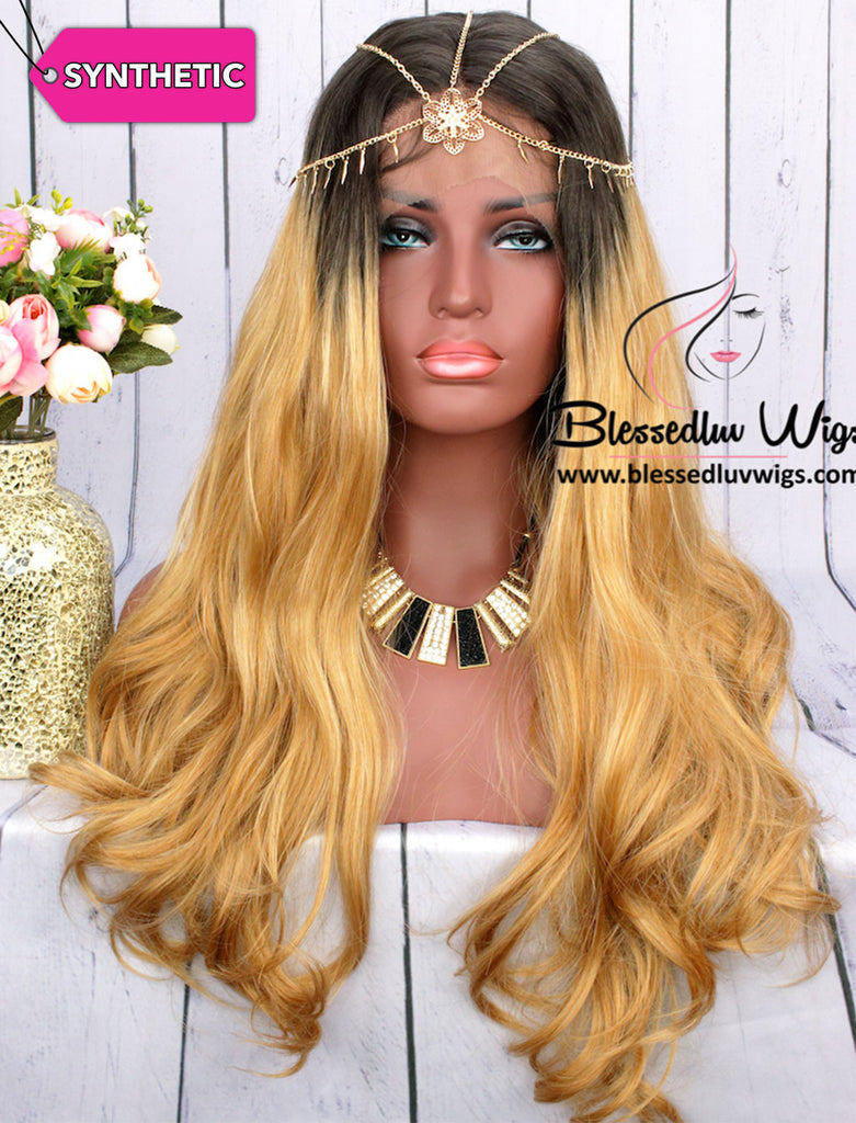 Taliyah - Diva Honey Blonde Wig-Brazilianweave.com-Brazilianweave.com