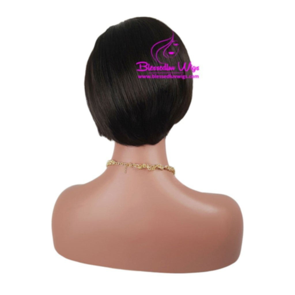 Pixie Cut Bob Wig - Easy Wear-Brazilianweave.com-Brazilianweave.com