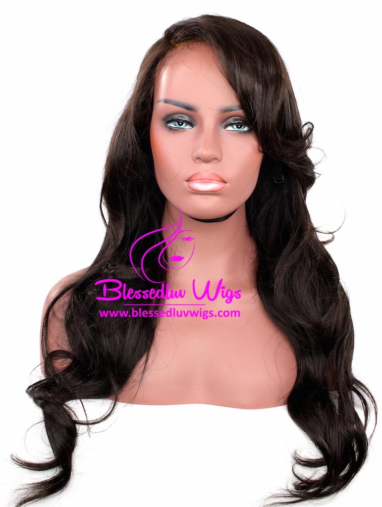 MOSCOW- Russian Handmade Lace Frontal Wig 22 inch-Brazilianweave.com-Brazilianweave.com