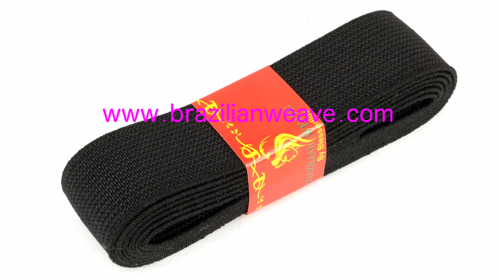 Elastic Medium Band Red 1M-Brazilianweave.com-Brazilianweave.com