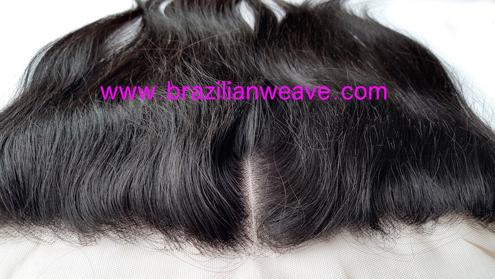 Peruvian Frontal Diamond (Centre Parting)-Brazilianweave.com-Brazilianweave.com