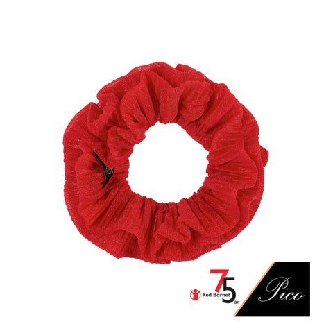 Red Barnet Scrunchie