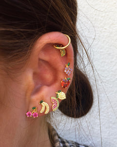 Lemon Crystal Stud