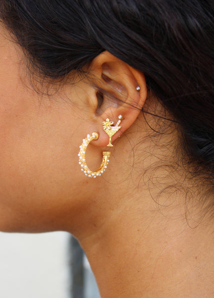 Manhatten Crystal Earring