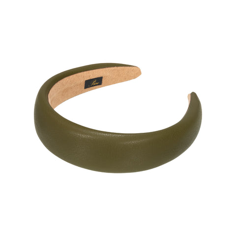 Emma Faux Leather Headband