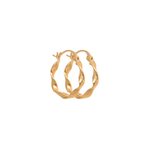 Texas Hoop - Gold