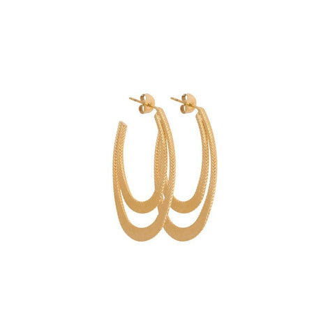 Milla Earrings - Gold