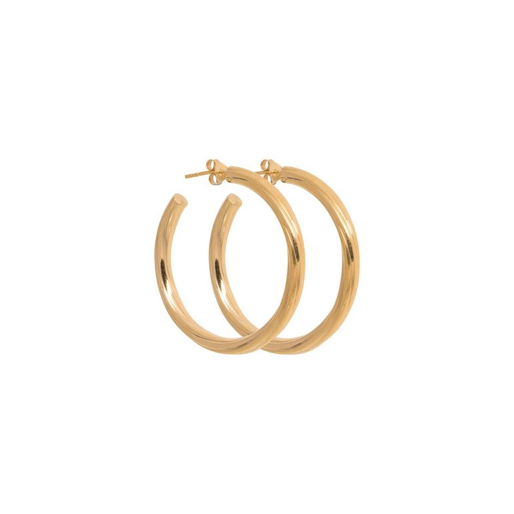 Turne Grande Hoop - Gold