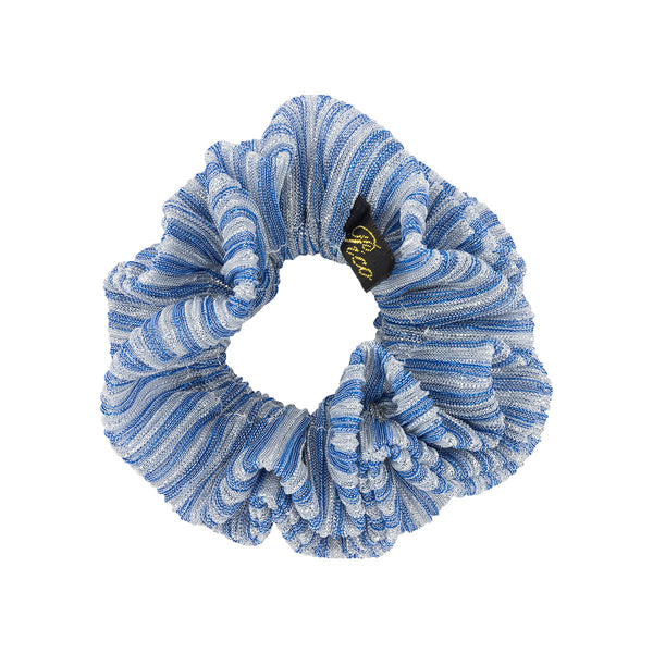 Metallic Scrunchie, Stripe
