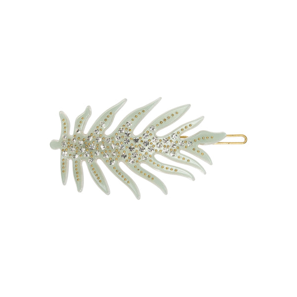 Leaf Diamond Clip