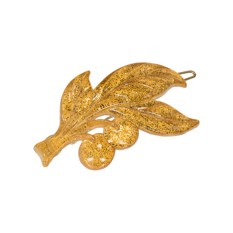 Cherry Leaf Pin