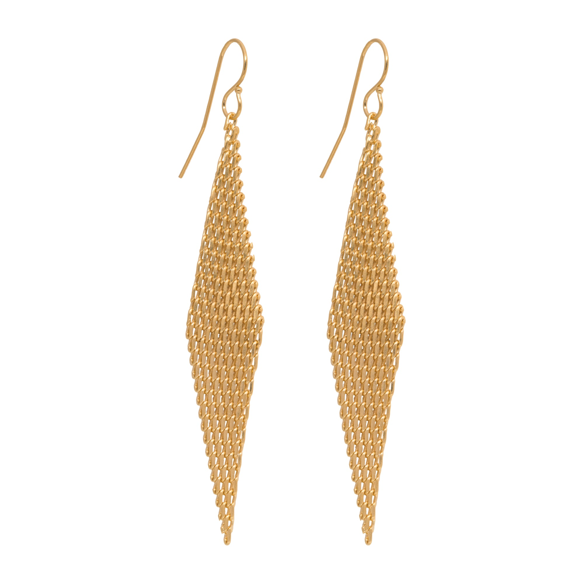 Kiara Pendant Earrings - Gold