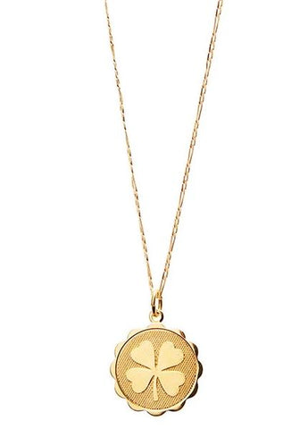Wish Me Luck Grande Necklace - Gold