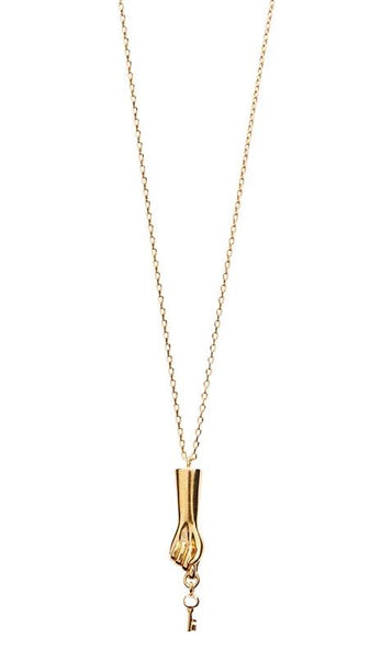 Low Key Necklace - Gold
