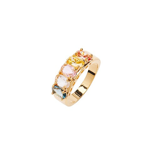 Janet Crystal Ring - Soft Mix