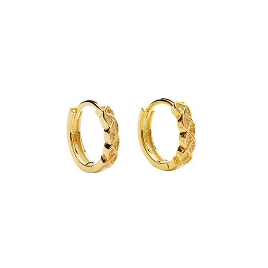 Situla Crystal Hoops