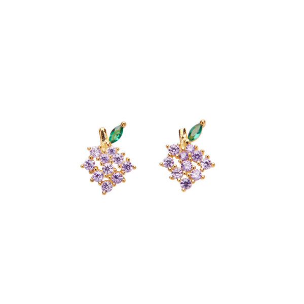 Grapes Crystal Stud