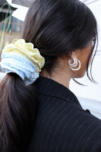 Chevron Scrunchie