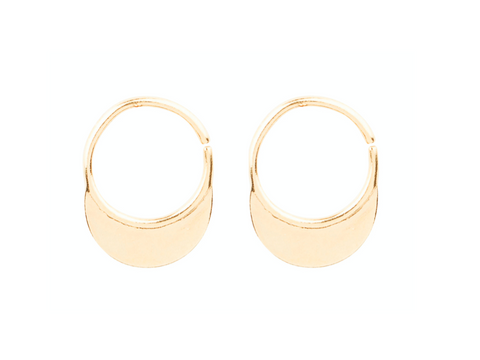 Africa Twist Earrings - Gold