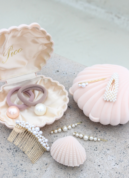 Shell Jewelry Box - Powder