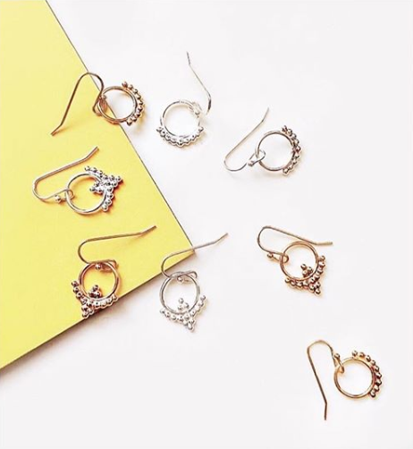 Taylor Petite Earring - Gold
