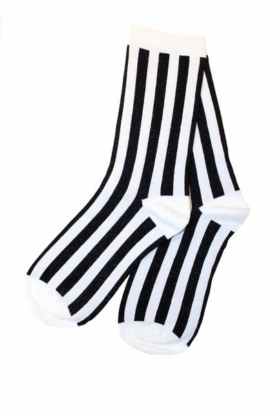 Vertical Striped Socks